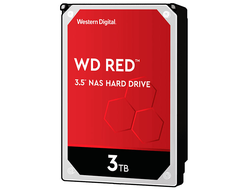 ЖЕСТКИЙ ДИСК HDD 3TB WESTERN DIGITAL RED SATA 6GB/S 5400RPM