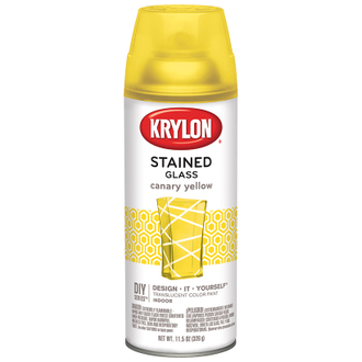 Krylon Stained Glass Canary Yellow 9035