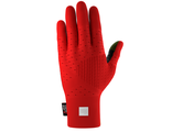 3D THERMO SEAMLESS RUNNING GLOVES RED