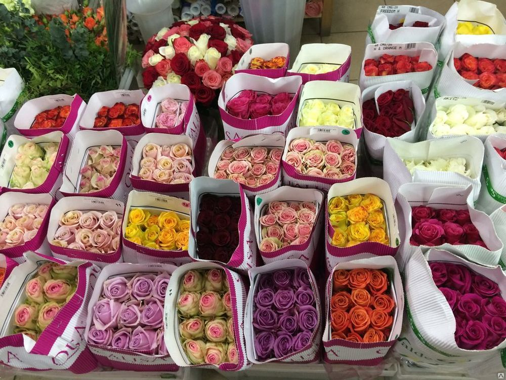 Цветы оптом недорого в москве
