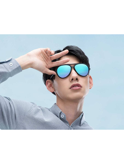 Солнцезащитные очки Xiaomi TS Ice Blue Pilot Sunglasses STR015-0105