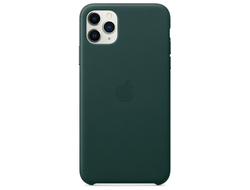 Чехол Apple кожаный  Apple iPhone 11 Pro Max green