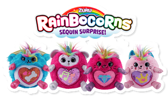 Игрушка-сюрприз RAINBOCORNS / Rainbocorns Sequin Mystery Surprise Egg Unicorn Pet  by Zuru