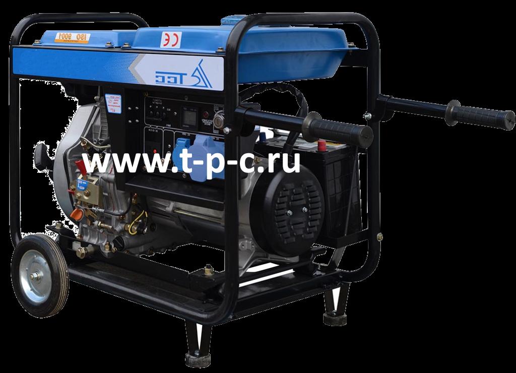 Дизель генератор TSS SDG 5000EH (Мощностью 5 кВт)