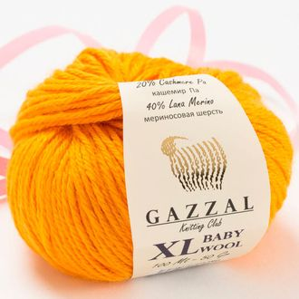 Gazzal Baby Wool XL 837 оранжевый