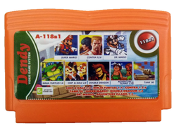 118в1 A-118в1 CHIP&DALE 2.3+TANK 90+SUPER MARIO+NINJA TURTLES 1.4+DOUBLE DRAGON 2.3+CONTRA 1.2.6+DR.