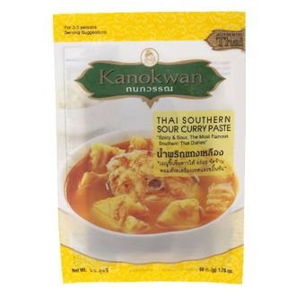 Thai Southern Sour Curry Paste Kanokwan 50 g