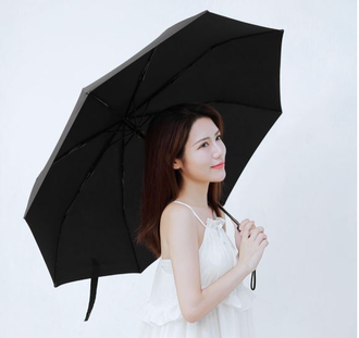 Зонт Xiaomi Two or Three sunny umbrella коричневый