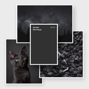 Sherwin-Williams: цвет месяца апрель 2018 - SW 6991 Black Magic