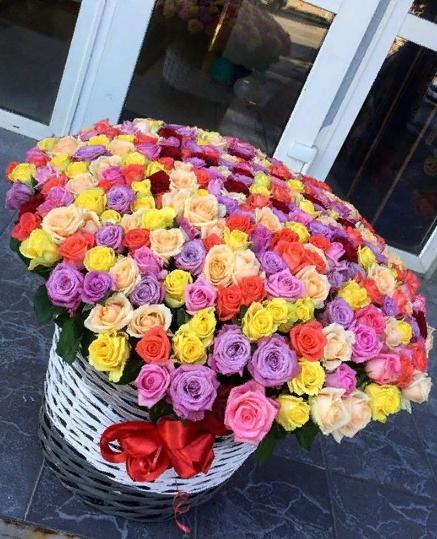 Почтовая доставка цветов в любой район — 10