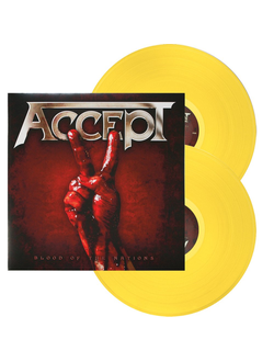 ACCEPT Blood of the nations LP YELLOW