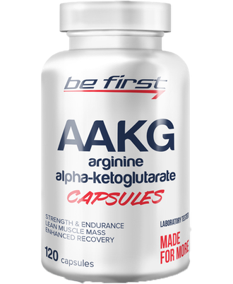 AAKG Capsules Be First 120 капc