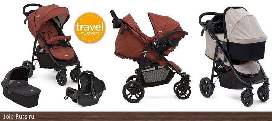 Joie Joie Mytrax Travel System 3 в 1.Модульная система Joie Mytrax Travel System