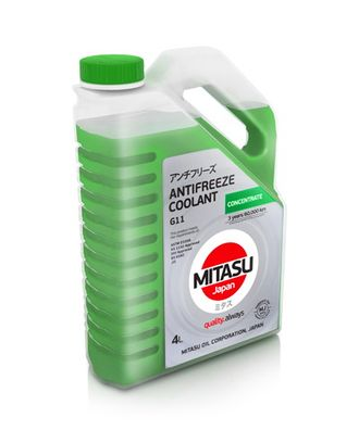 MJ-612. MITASU GREEN ANTIFREEZE/COOLANT CONCENTRATE
