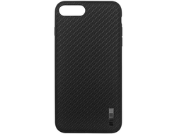 Чехол для iPhone InterStep CARBON ADV iPhone 7 Plus/8 Plus черный