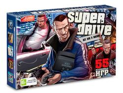 Sega Super Drive GTA (55-in-1)