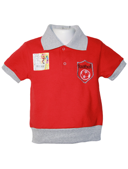 Рубашка поло (Артикул 2147-342) цвет красный