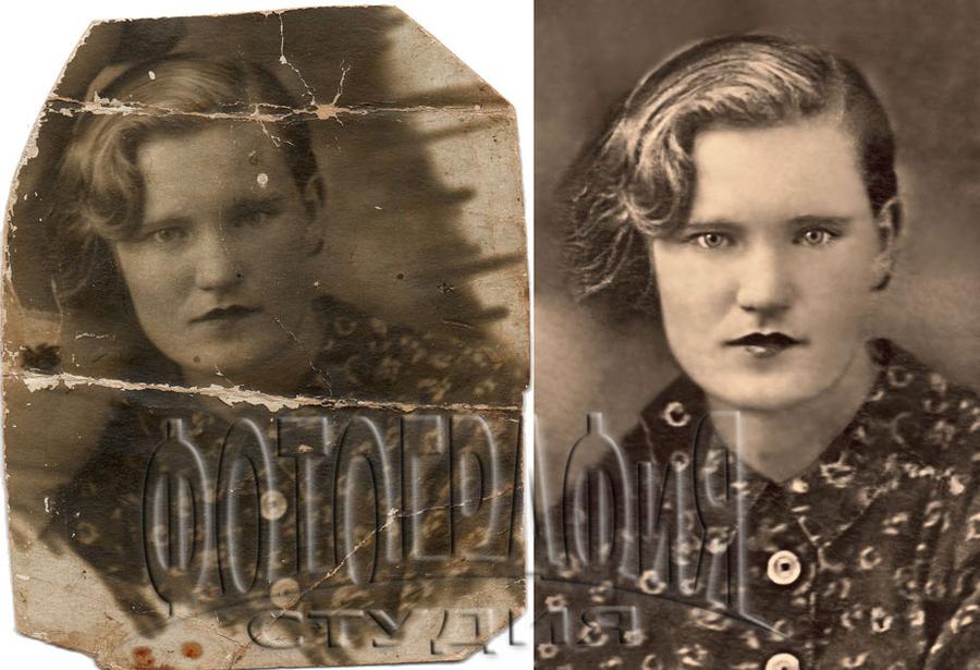 Реставрация старинных фотографий в москве тебе