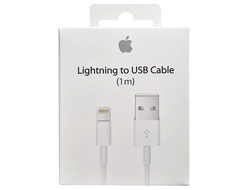 Кабель Apple Lightning для iPhone, iPad, iPod