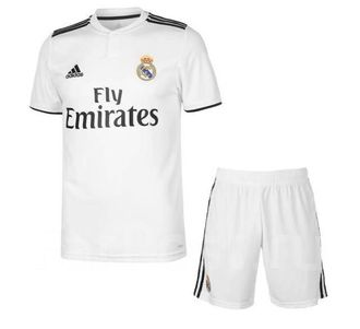 Футбольная форма Adidas Real Madrid 2018/2019 XL Белый (401121709)
