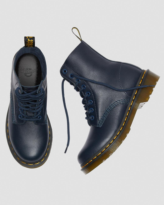 Ботинки Dr. Martens 1460 pascal virginia синие