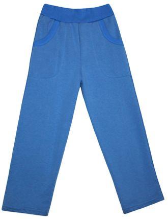 Штаны спортивные утеплённые (Артикул 498-352), синий