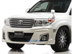 Обвес WALD BLACK BISON Toyota Land Cruiser 200 2007-2015 с фендерами