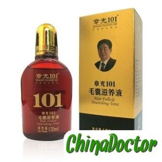 "Тоник ""101 Hair Follicle Nourishing Tonic"" серии Zhangguang (Чжангуан) от облысения"