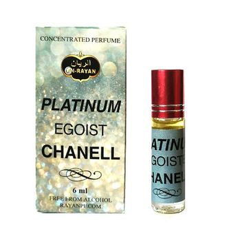 Арабские духи Al Rayan Platinum Chanel Egoist 6ml