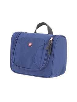 Несессер WENGER TOILETRY KIT 1092343002, дорожный, синий, полиэстер, 27х11х22см