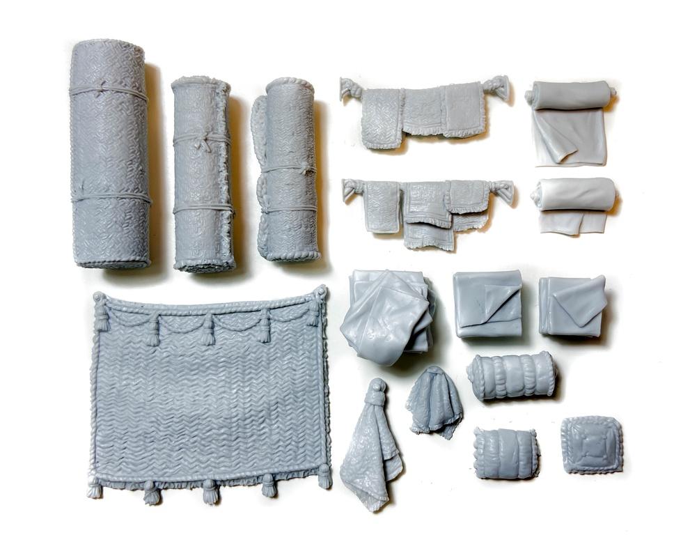 Ковры и ткани