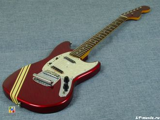 Fender Japan Mustang  MG-69 Ferrari Red + Dimarzio