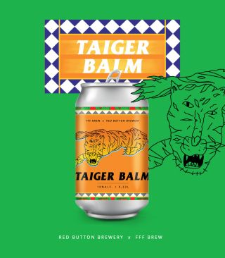 Taiger Balm, Red Button 0,33 л.