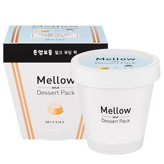Маска-пудинг молочная Missha Mellow Dessert Milk Pack