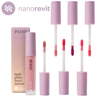 HIGH GLOSS LIQUID LIPSTICK NANOREVIT PAESE 1
