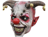 Маска Злого Клоуна с Бубенцами ( Clown Latex Halloween Mask)
