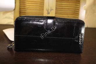 БУМАЖНИК GUCCI GG Marmont leather BLACK