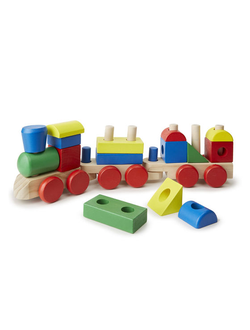 """Поезд - паровоз"" конструктор пирамидка Melissa and Doug, BeeZee  Toys"