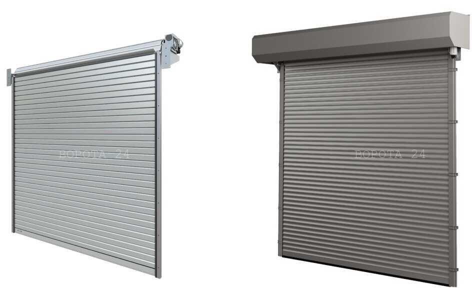 подъемные рулонные ворота для склада и паркинга
