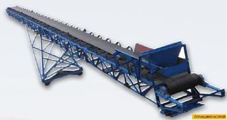Конвейеры для транспортировки щебня конвейер напольный