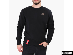 Свитшот Basics Sweater  Small Logo Alpha Industries