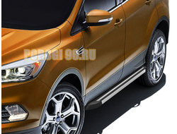 Пороги на Ford Kuga (2012-2016) Luxe Black