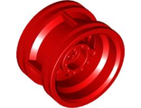 Wheel 30.4mm D. x 20mm with No Pin Holes and Reinforced Rim, Red (56145 / 6143426)