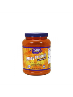 Протеин NOW sports Whey protein 907 гр