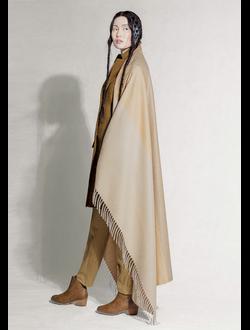 Плед из  100% шерсти верблюда бежевый размер Erdenet