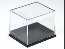 Бокс пластиковый для образцов, черный 40*35*32 мм №20213