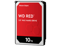 ЖЕСТКИЙ ДИСК HDD 10TB WESTERN DIGITAL RED SATA 6GB/S 5400RPM