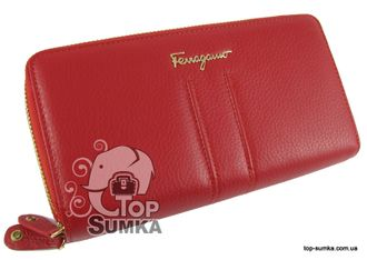 Кошелек Salvatore Ferragamo 4383 red