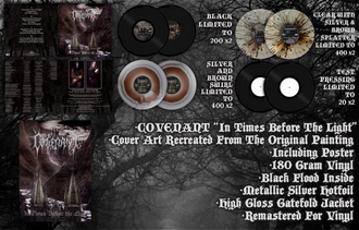The Covenant  -  In Times Before The Light 2-LP splatter