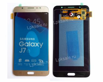 Дисплей для Samsung Galaxy J7 2016 SM-J710F/DS Gold